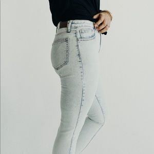 Carly Jean Los Angeles Mason High Waisted Skinnies